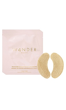MASQUE POUR LES YEUX BAGGAGE CLAIM GOLD EYE MASK 6 PACK Wander Beauty $25 BEST SELLER