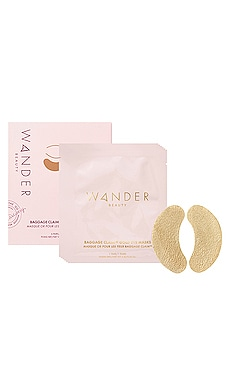 Coupon Wander Beauty Baggage Claim Gold Eye Mask 6 Pack