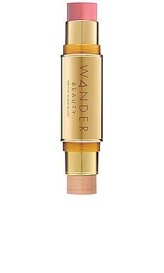 LÁPIZ ILUMINADOR Y BRILLO ON-THE-GLOW BLUSH AND ILLUMINATOR Wander Beauty $42 MÁS VENDIDO