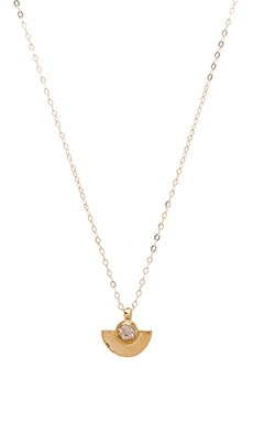 WOLF CIRCUS Pave Necklace in 14K Gold Plated