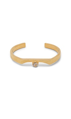 WOLF CIRCUS Pave Bracelet in 14K Gold Plated