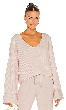 Kiera V Neck Sweater Weekend Stories $238 NEW