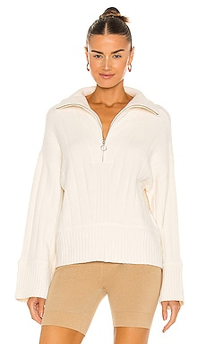 Luca Half Zip Sweater Weekend Stories $268 NEW