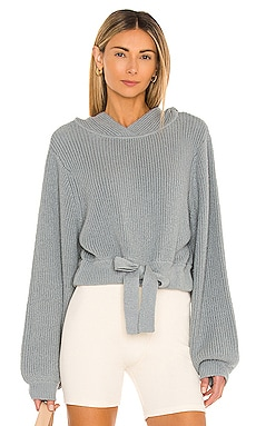 PULL MAILLE À CAPUCHE HILARY Weekend Stories $238
