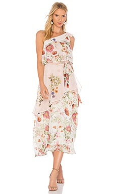 Field Bouquet Flutter Dress
