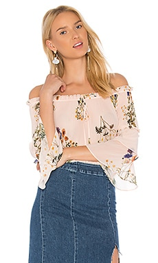 Country Field Off Shoulder Top