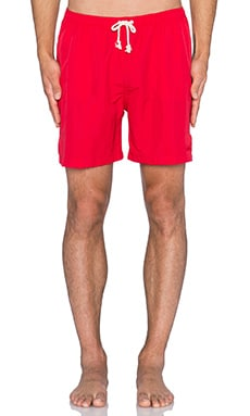 Wellen Classic Pops Volley Short in Red