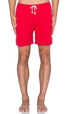 Wellen Classic Pops Volley Short in Red