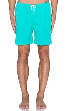 Wellen Classic Pops Volley Short in Turquoise