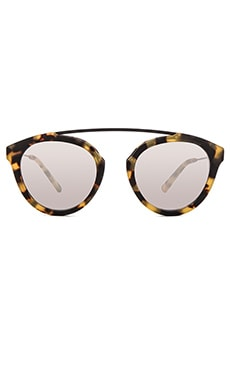 WESTWARD LEANING Flower 1 Sunglasses in Sand Tortoise Matte