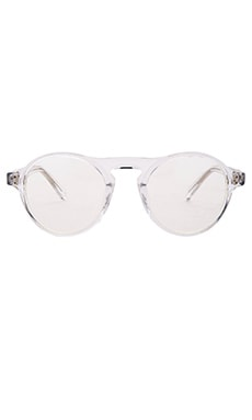 WESTWARD \\ LEANING Dyad 8 Sunglasses in Crystal Shiny