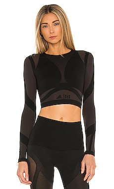 x Adidas Sheer Motion Top Wolford $190