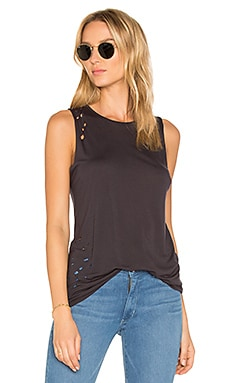 The Brix Distressed Muscle Tank