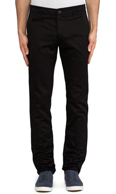 wings + horns Westpoint Twill Chino in Black
