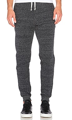 wings + horns Cabin Fleece Pant in Black