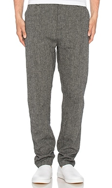 wings + horns Linen Utility Pant in Charcoal