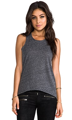 Whetherly Sabrina Tank in Charcoal