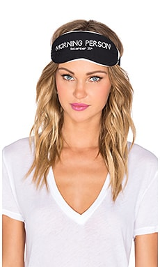 Wildfox Couture Morning Person Eye Mask in Black