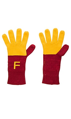 Superfries Gloves in Multi Colored