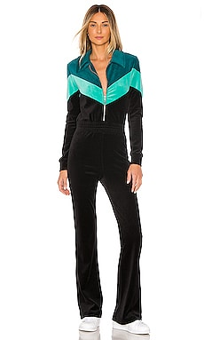 Kenna Velour Jumpsuit Wildfox Couture $209