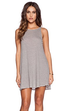 Wildfox Couture Fox Stripe Dress in Multi Colored