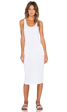 Wildfox Couture Basic Tank Dress in Clean White