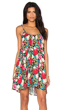 Floral Shift Dress in Multi
