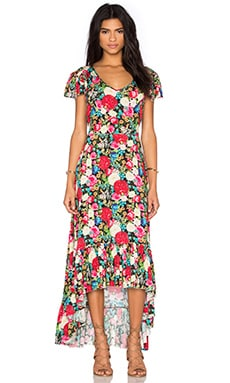 Floral Maxi Dress in Multi