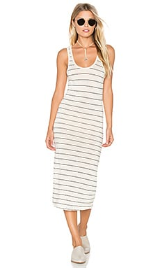 x REVOLVE The Body Dress in Vanilla Latte