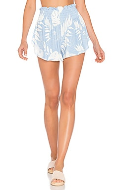 Vacay All Day Shorts in Pool Blue