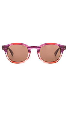 Wildfox Couture Smart Fox Sunglasses in Feather & Brown Sun