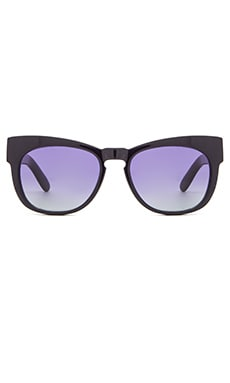 Wildfox Couture Winston Sunglasses in Navy Blue & Multi Gradient