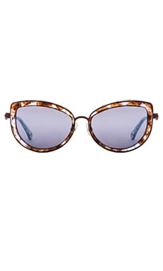 Wildfox Couture Chaton Sunglasses in Coconut
