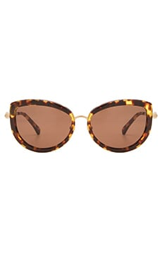 Wildfox Couture Chaton Sunglasses in Tokyo Tortoise & Brown Sun
