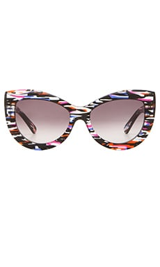 Wildfox Couture Kitten Sunglasses in Fireworks