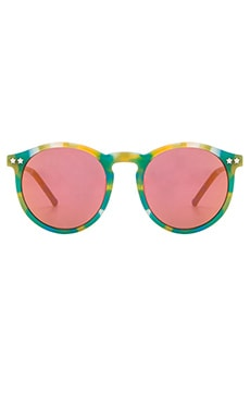 Wildfox Couture Steff Sunglasses in Seaweed Deluxe