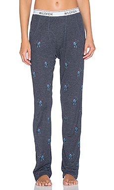 Wildfox Couture 90's Dits Lounge Pant in Oxford