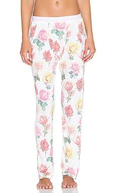 Wildfox Couture Lazy Sunday Lounge Pant in Multi