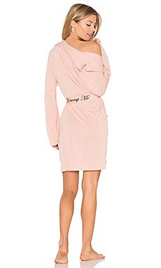 Unwrap Me Robe in Dusty Rose