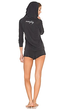 Naughty Pajama Set in Charcoal Grey