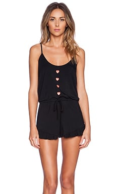 Wildfox Couture Knit Romper in Black