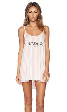 Wildfox Couture Cabana Dress in Hotel Stripe Multi