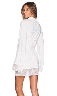 INTIMATES HERE COMES THE BRIDE DRESSING ROBE