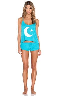 Wildfox Couture Sweet Dreams Sleep Set in Summer Sea