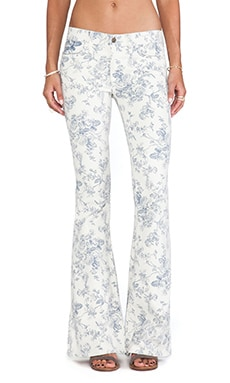 Wildfox Couture Joni Mid-Rise Super Flare in Toile
