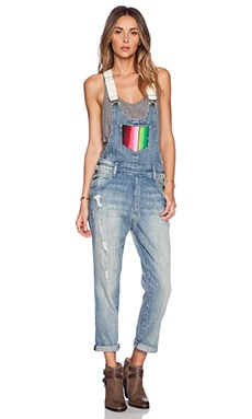 Wildfox Couture Chloe Overalls in Blue