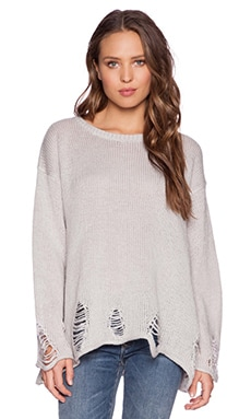 Wildfox Couture Lennon Sweater in Smoky Bear
