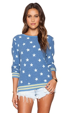 Wildfox Couture Starry Sailor Sweater in East Hampton