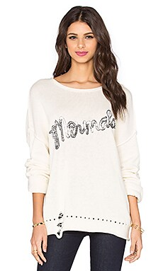 Wildfox Couture Mermaid Sweater in Pearl