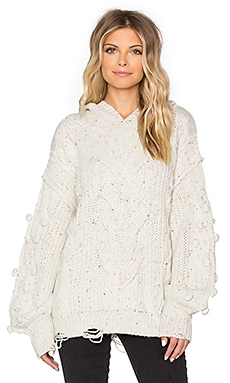 Wildfox Couture Pattie Sweater in Vintage Lace